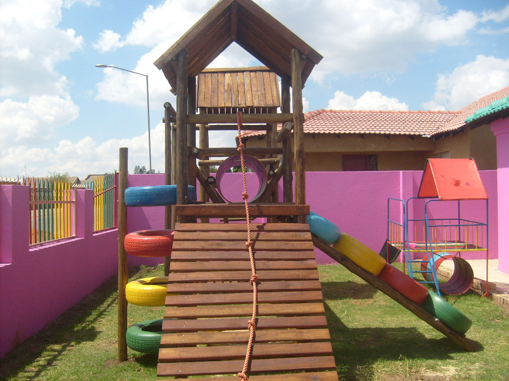 Wooden Jungle Gyms