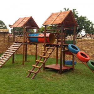 best wooden jungle gym