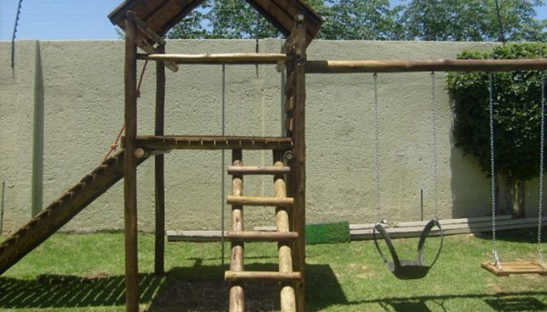 Wooden Jungle Gym Benoni