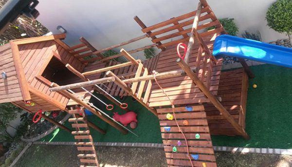 Wooden Jungle Gyms Gauteng
