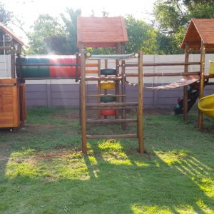 ery Big Wooden Jungle Gym